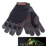 Oregon Fiordland Stretch Fabric & Leather Chainsaw Gloves Large (10) - 295395L
